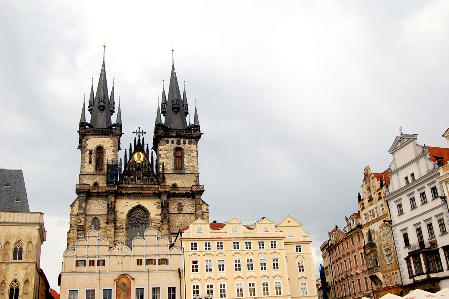 Iglesia De Nuestra Se 241 Ora De T 253 N De Praga